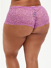 Cheeky Panty - Lace Purple, IRIS ORCHID, alternate