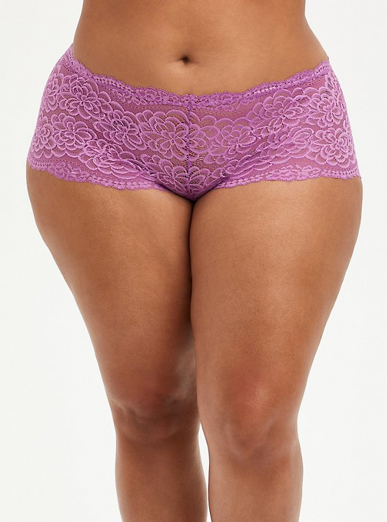 Cheeky Panty - Lace Purple, IRIS ORCHID, hi-res