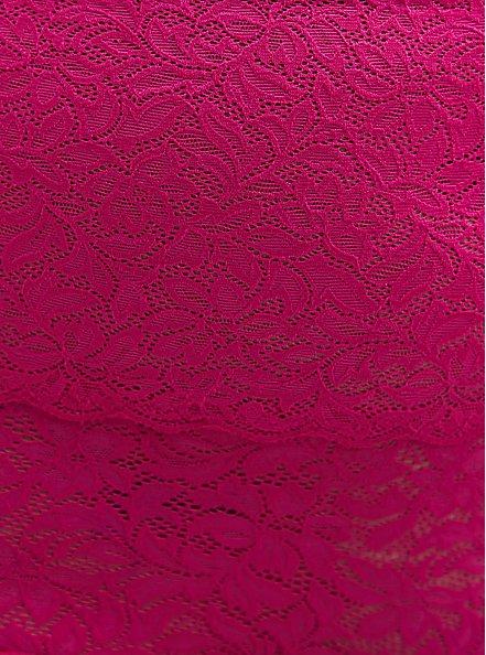 Pink Lace 4 Way Stretch Brief Panty, FESTIVAL FUSCHIA, alternate