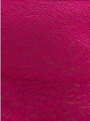 High Waist Brief Panty - 4-Way Stretch Lace Pink, FESTIVAL FUSCHIA, alternate