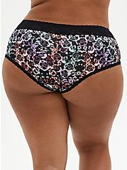 Mirrored Skull Second Skin Cheeky Panty, MIRRORED SKULL FLORAL, alternate