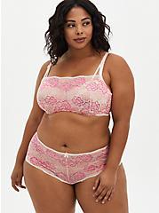 Pink Lace Cheeky Panty, LOTUS, alternate