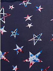Navy Stars Second Skin Cheeky Panty, FUNKY STARS NAVY, alternate