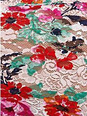 Light Pink Floral Lace Cheeky Panty, TASHA FLORAL PINK, alternate