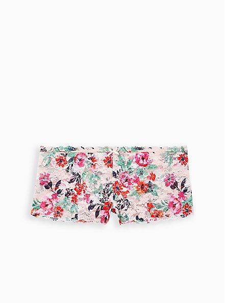 Light Pink Floral Lace Cheeky Panty, TASHA FLORAL PINK, hi-res