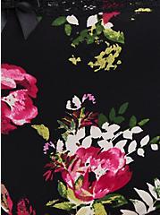Floral Microfiber & Lace Lattice Hipster Panty, FLORAL DISPERSE, alternate