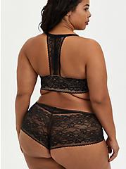 Cheeky Panty - Lace Black, RICH BLACK, alternate