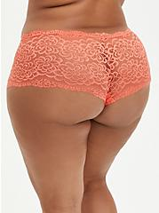 Cheeky Panty - Lace Coral, LIVING CORAL, alternate