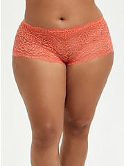 Cheeky Panty - Lace Coral, LIVING CORAL, hi-res