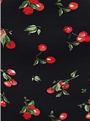 Black Cherries Ruffle Highwaist Panty, CHERRIES BLACK, alternate