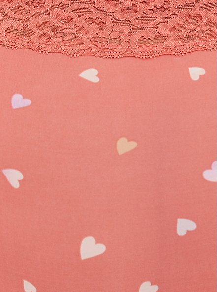 Brief Panty - Microfiber Rose Hearts, HEARTS OF GOLD RED, alternate