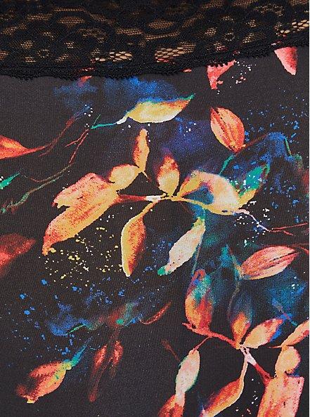 Second Skin Brief Panty - Water Leaves Black, WATER LEAVES PINK, alternate