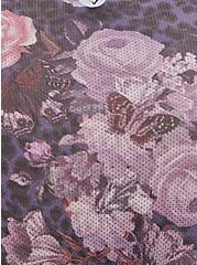 Active Hipster Panty - Microfiber Floral Black, WANDERING FLORIST, alternate