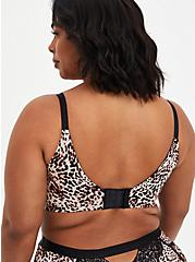 Push-Up Wire-Free Bra - Lace Leopard with 360° Back Smoothing™ , LEOPARD, alternate