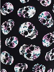 Black & White Skull Sleep Legging, MULTI, alternate