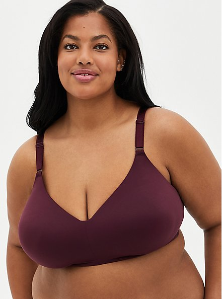 Wine 360° Back Smoothing™  Lightly Lined Wire-Free Bra, WINETASTING, hi-res