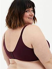 Wine 360° Back Smoothing™  Lightly Lined Wire-Free Bra, , fitModel1-alternate