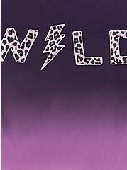 Plus Size Purple Ombre Wild Seamless Brief Panty, , alternate