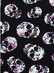 Super Soft Black Skull Sleep Dress, MULTI, alternate