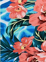 Blue Water Floral Reversible Swim Brief, , fitModel1-alternate