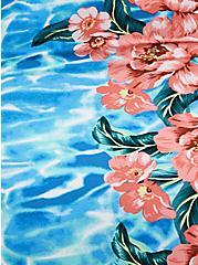 Underwire Slim Fix One Piece Swimsuit - Blue Water Floral , , fitModel1-alternate