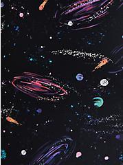 Galaxy Asymmetrical Side Tie Swim Dress, MULTI, alternate