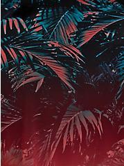 Palm Peplum Underwire Swim Dress, MULTI, alternate