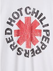 Classic Fit Raglan Tee - Red Hot Chili Peppers White, BRIGHT WHITE, alternate