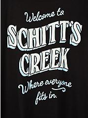 Slim Fit Crew Tee - Schitt's Creek Black , DEEP BLACK, alternate