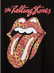Classic Fit Tunic Tee - Rolling Stones Leopard Black , DEEP BLACK, alternate