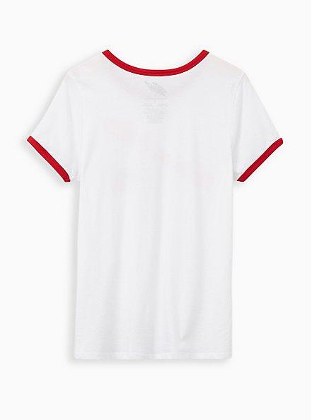 Classic Fit Ringer Tee - Mountain Dew White , BRIGHT WHITE, alternate