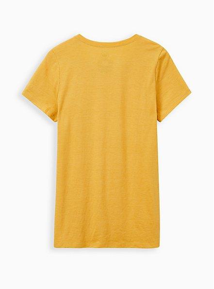 Classic Fit Crew Tee - Triblend Jersey Tootsie Roll Pop Golden Yellow, GOLDEN YELLOW, alternate