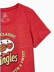 Classic Fit Crew Tee - Triblend Jersey Pringles Red, RED, alternate