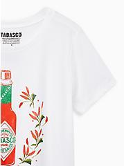 Slim Fit Crew Tee - Tabasco White, BRIGHT WHITE, alternate