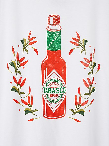 Slim Fit Crew Tee - Tabasco White, BRIGHT WHITE, alternate