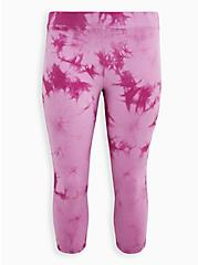 Capri Premium Legging - Tie-Dye Purple , MULTI, hi-res