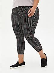 Crop Premium Legging - Ink Stripe Black, MULTI, alternate