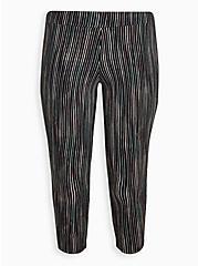 Crop Premium Legging - Ink Stripe Black, MULTI, hi-res