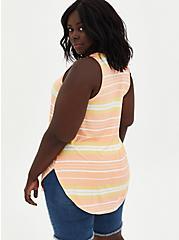 Favorite Tunic - Super Soft Stripe Multi , OTHER PRINTS, alternate