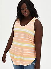 Favorite Tunic - Super Soft Stripe Multi , OTHER PRINTS, hi-res