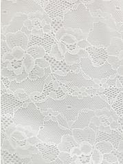 Super Soft White Smocked Tube Top, BRIGHT WHITE, alternate