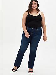 Mid Rise Slim Boot Jean - Super Soft Eco Medium Wash , HYDROSPHERE, alternate