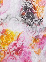Multi Tie-Dye Lace Tiered Maxi Dress, TIE DYE-PINK, alternate