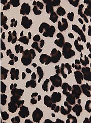 Leopard Georgette Dolman Tunic Blouse, LEOPARD - TAN, alternate