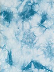 Ava - Teal Tie-Dye Challis Cami, TIE DYE-BLUE, alternate