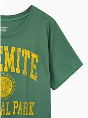 Slim Fit Crew Tee - Yosemite Green, FOLIAGE GREEN, alternate