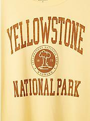 Slim Fit Crew Tee - Yellowstone Yellow , SUNDRESS, alternate