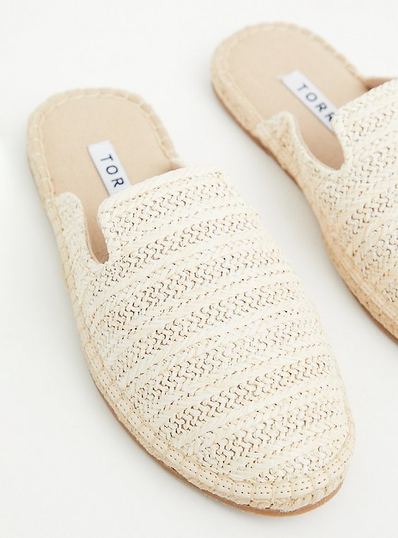 Natural Jute Espadrille Mule (WW) , TAN/BEIGE, hi-res