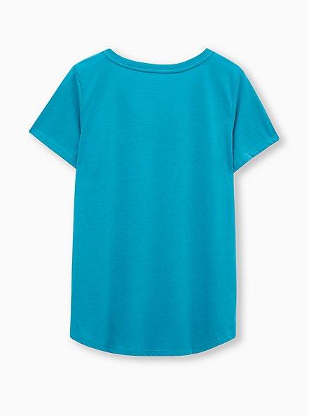 Girlfriend Tee - Signature Jersey Aqua, TEAL, alternate