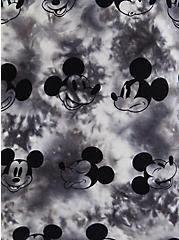 Relaxed Fit Top - Disney Mickey Mouse Tie-Dye, TIE DYE - GREY, alternate